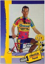 (C2/900) Cartoncino Ciclismo Chanteur Pascal Autografo Originale – Chazal Vetta