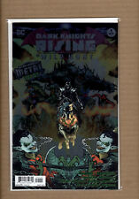 DARK KNIGHTS RISING THE WILD HUNT #1 FOIL STAMPED COVER BATMAN WHO LAUGHS NM