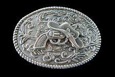 Western Gun Hat Belt Buckle Cowboys Cowgirls Rodeo Boucle de Ceinture