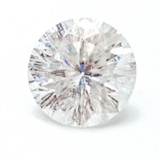 0.51 CTS 5MM SI2 VG ROUND UNTREAT F COLOR WHITE LAB CERTIFIED LOOSE DIAMOND