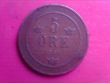SWEDEN    5    ORE    1900      OCT19