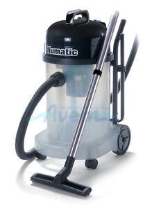 WVT470  Wet & Dry Vacuum Cleaner Transparent - Commercial Numatic 1060W