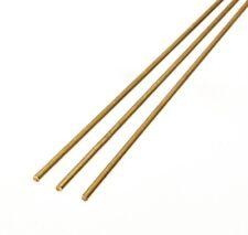 """K&S 1688 Brass Rod .088"""" x 12""""  3-piece"""
