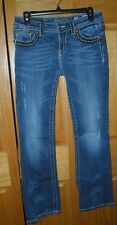 MISS ME ~ WOMENS STRETCH BOOT JEANS ~ SIZE 28 ~ EUC