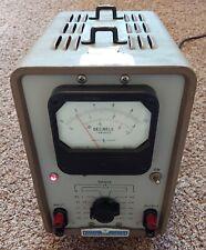 Vintage Hewlett Packard 400d Vacuum Tube Voltmeter Vtvm Rms Decibels Hp Usa Made