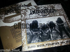 INSULTER Blood Spits, Violences And Insults LP berserk black thrash Necrófago