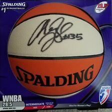 Wnba Cheryl Ford Autograph Basketball - Official Wnba Ball Detroit Shock + Bonus