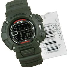 NEW CASIO G-SHOCK MUDMAN  G-9000-3VDR GREEN MUD RESISTANT 100%AUTHENTIC