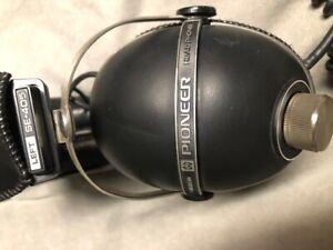 Vintage Pioneer Headphones