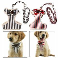 Adjustable Chest Pet Vest Dog Harness Collars Back Traction Lead Leash Strap