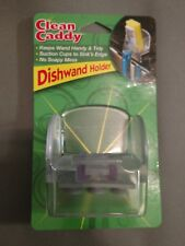 Clean Caddy Dishwand Holder Suctions Sink - New
