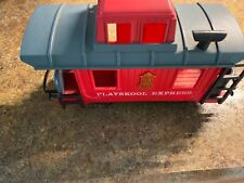 Playskool Express Train Red Caboose 1988 Excellent Condition