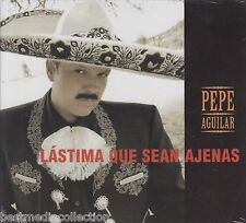 Pepe Aguilar CD NEW Lastima Que Sean Ajenas ORIGINAL - ALBUM Nuevo SEALED