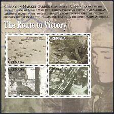 Granada 2005 la Segunda Guerra Mundial/Militar/Ejercito Soldados// guerra/batallas/Aviones/paracaídas m/s n40109