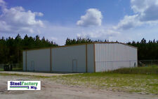 Steel Factory Mfg Prefab Commercial Storage Building 75x150x16 Frame  Warehouse