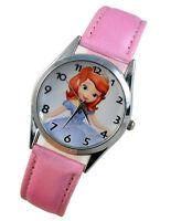 Sofia the First Princess Girl Child  Fashion Watch Xmas Wrist Xmas Gift YBX09