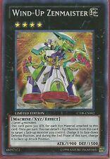 3x Yugioh CT08-EN002 Wind-Up Zenmaister Secret Rare Card
