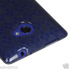 HTC Windows Phone 8X SOFT COVER CANDY SKIN GEL CASE ACCESSORY SMOKE CHECKER