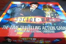 DOCTOR WHO THE TIME TRAVELLING ACTION GAME WITH REVOLVING ELECTRONIC GAME BOARD