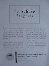 12/1952 PUB IRVIN IRVING AIR CHUTE PARACHUTE RESEARCH DEVELOPMENT ORIGINAL AD