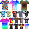 3D T-Shirt Optical illusion Swirl Men Casual Funny Summer Short Sleeves Tee Tops