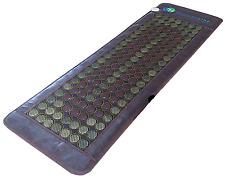 Jade Tourmaline Stones Mat Negative Ions InfraRed Spa Yoga Heat Therapy Pad