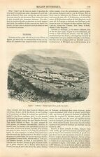 Mosquée Nedroma/ Nadroma wilaya de Tlemcen en Algérie GRAVURE ANTIQUE PRINT 1860