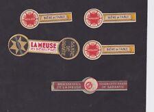 Ancienne étiquette Bière Alcool France   BN48605 Brasserie la Meuse