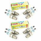 8x Jaguar S-Type 4.0 V8 Genuine Denso Iridium Power Spark Plugs