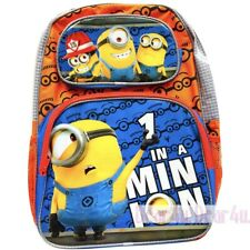 Minion Despicable Boys kids large school backpack preschool bag new AU kid gift