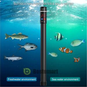 500W LED Aquarium Heater Anti-Explosion Submersible Tank Titanium Alloy Tube New