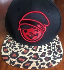 Neff Jordy Leopard Print Ball SnapBack Cap Hat EUC
