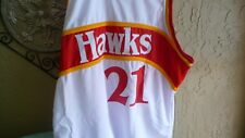 "Hawks Dominique Wilkins ""HOF"" Authentic Signed White Jersey PSA/DNA ITP"