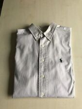 Camicia Polo By Ralph Lauren Beige L(16 Anni)