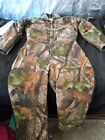 Walls Outdoors Youth 14 Work/Snow/Hunt Suit Camo Insulated Coverall Longsleeve