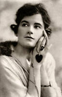 OLD PHOTO Violet Hopson Australian born Actress And Producer