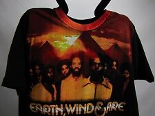 2009 EARTH WIND & FIRE The Legacy Continues USA Tour AUTHENTIC Concert T Shirt L