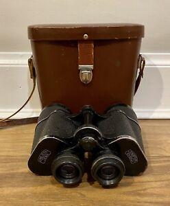 Carl Zeiss Jena Binoculars Jenoptem 10x50W Comes With Original Leather Case