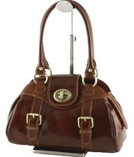 Borsa Donna in vera pelle made in Italy Bottega Carele BC206marrone