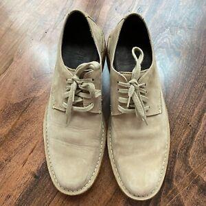 Cole Haan Men's Shoes Size 8.5 8 1/2 M Blucher Desert Beige Oxfords C09519 Tan