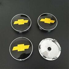4PCS 60mm Car Wheel Center Hub Caps Emblem Badge Rim Cap for Chevrolet