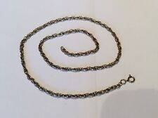 """9ct Gold Ladies Chain Link / Necklace 18.5"""" Ship Worldwide"""