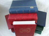 STAMP STOCKBOOKS - TOP NAMES, STANLEY GIBBONS, LIGHTHOUSE, ROYAL MAIL, DAVO, etc