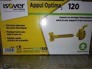appui optima 2 isover 120 boite de 50 neuf