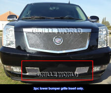 SS 1.8mm Mesh Grille For 07-2011 Cadillac Escalade Tow Hook