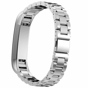 Stainless Steel Metal Replacement Watch Band Strap For Fitbit Alta & HR