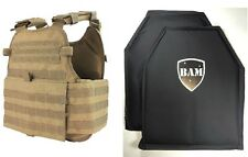 Level IIIA 3A | Body Armor Inserts | Bullet Proof Vest | Condor MOPC Vest -TAN