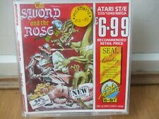 SWORD & THE ROSE GAME LIKE GHOST N GOBLINS COMPLETE CODE MASTERS ATARI ST/E 1990