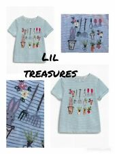 Next Girls' Short Sleeve Sleeve Crew Neck T-Shirts, Top & Shirts (2-16 Years)