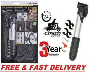 Cycle Pump (SUITS ALL VALVES) Mountain Bike BMX Bicycle T-BAR HANDLE Locks On UK